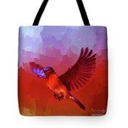 Blue Bird 01  Tote Bag