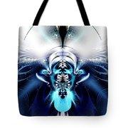 Blue Blazes Tote Bag