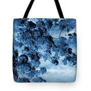 Blue Blossoms Tote Bag