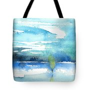 Blue Blue The World Is Blue Tote Bag