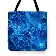 Blue Blue Water Tote Bag