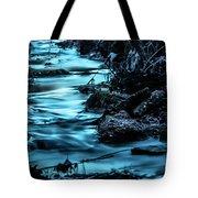 Blue Blur Tote Bag