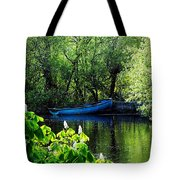 Blue Boat Cong Ireland Tote Bag