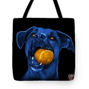 Blue Boxer Mix Dog Art - 8173 - Bb Tote Bag