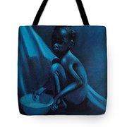 Blue Boy Tote Bag