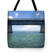 Blue Bridge Tote Bag