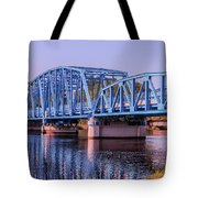 Blue Bridge Georgia Florida Line Tote Bag