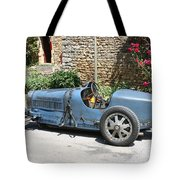 Blue Bugatti Oldtimer Tote Bag