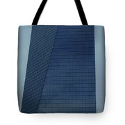 Blue Building Tote Bag