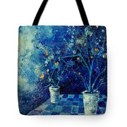 Blue Bunch Tote Bag