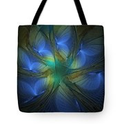 Blue Butterflies Tote Bag