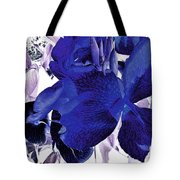 Blue Canna Lily Tote Bag