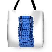 Blue Cap Tote Bag