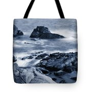 Blue Carmel Tote Bag