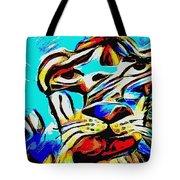 Blue Cat Blue Tote Bag