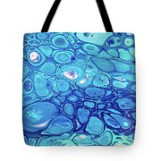 Blue Cells Tote Bag