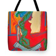 Blue Chair Study Tote Bag