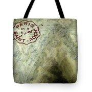 Blue Cheese Wheel Tote Bag