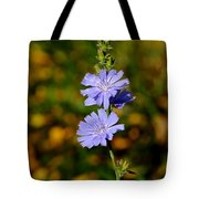 Blue Chicory 2 Tote Bag