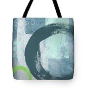 Blue Circles 2- Art By Linda Woods Tote Bag