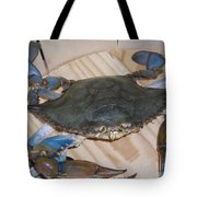 Blue Claw Crab Tote Bag