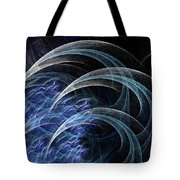 Blue Claws Tote Bag