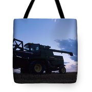 Blue Combine Tote Bag