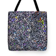 Blue Complex  Tote Bag