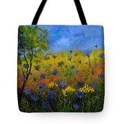 Blue Cornflowers 7761 Tote Bag