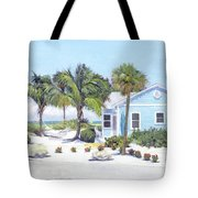 Blue Cottage On Siesta Key Beach, Access 3 Tote Bag