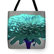 Blue Crown Tote Bag
