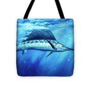 Blue Crush Tote Bag