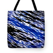 Blue Current Tote Bag