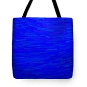 Blue Currents Tote Bag