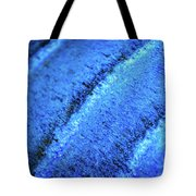 Blue Curves Tote Bag by Todd Blanchard