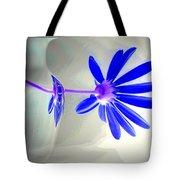 Blue Daisy Delight Tote Bag