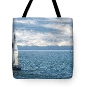 Blue Days On Lake Erie Tote Bag
