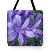 Blue Delight Tote Bag