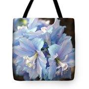 Blue Delphinium Tote Bag
