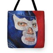 Blue Demon Jr Tote Bag