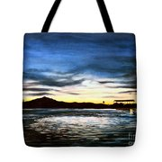 Blue Diablo Tote Bag