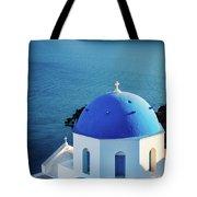 Blue Dome Tote Bag