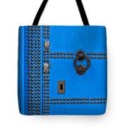 Blue Door Accents Tote Bag