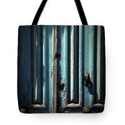 Blue Door. Essaouira. Morocco Tote Bag
