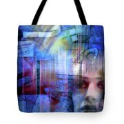 Blue Drama Vision Tote Bag