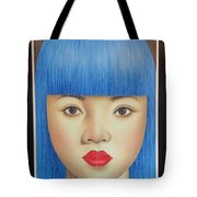 Blue Dream 78x55 Tote Bag