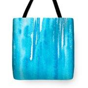 Blue Drip Tote Bag