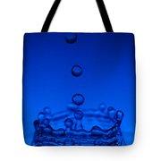 Blue Drop Tote Bag