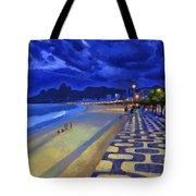 Blue Dusk Ipanema Tote Bag