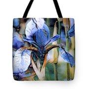 Blue Dutch Iris Tote Bag
